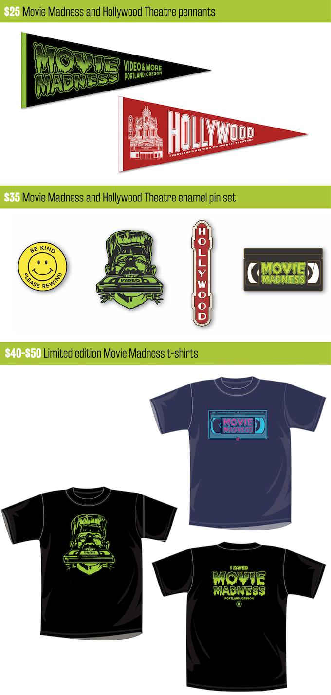 Save Movie Madness By Hollywood Theatre Kickstarter