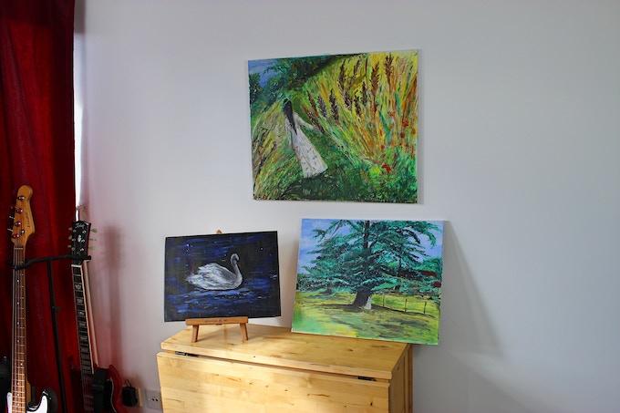 Original Paintings, acrylics on canvas
