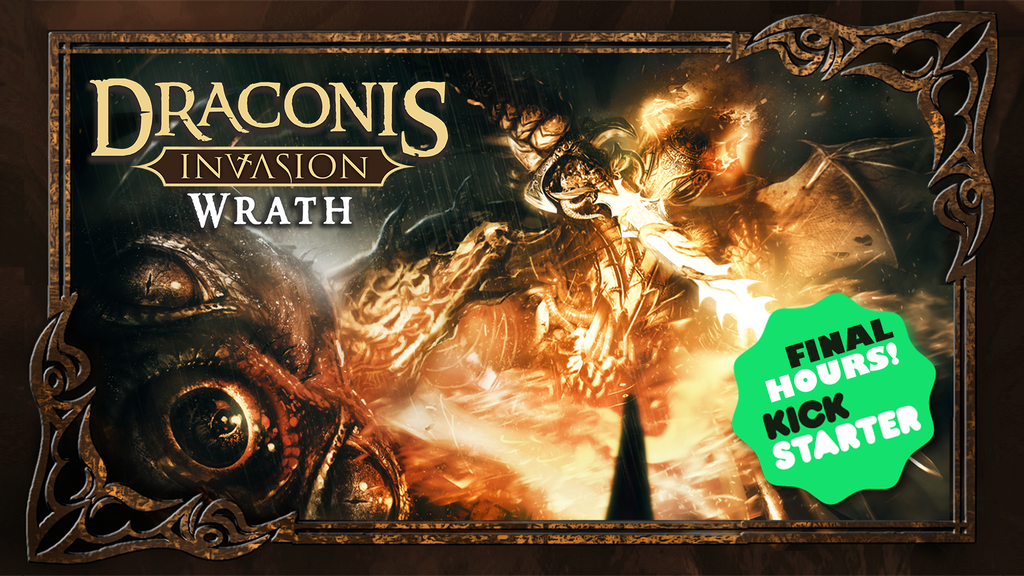 Draconis Invasion: Wrath - Dark Fantasy Deck-Building Game project video thumbnail