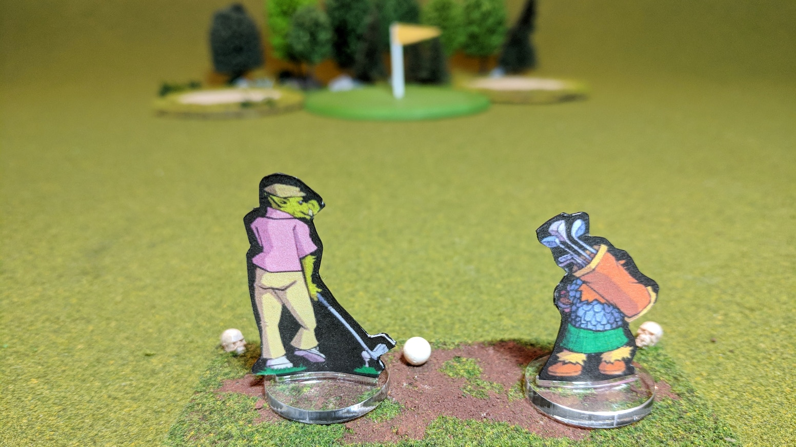 HAGGIS is a peculiar tabletop miniatures game where golf meets high fantasy for 1 or more players.