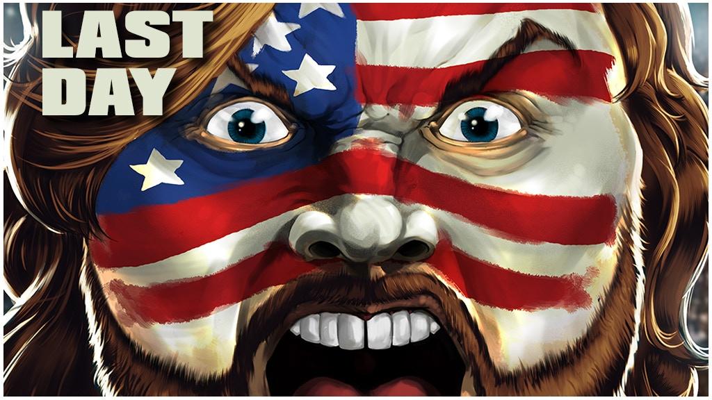 Hacksaw Jim Duggan Comes to Wrestling Comics! HOOOOO! project video thumbnail