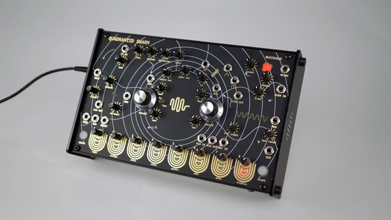 eowave quadrantid swarm - experimental touch synthesizer