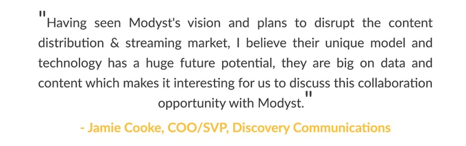A word from Jamie Cooke, COO/SVP - Discovery Communications