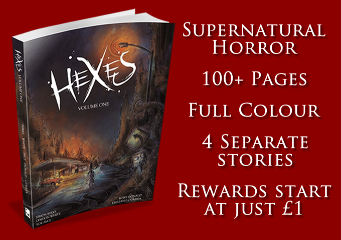 Hexes Volume One A Supernatural Horror Graphic Novel By