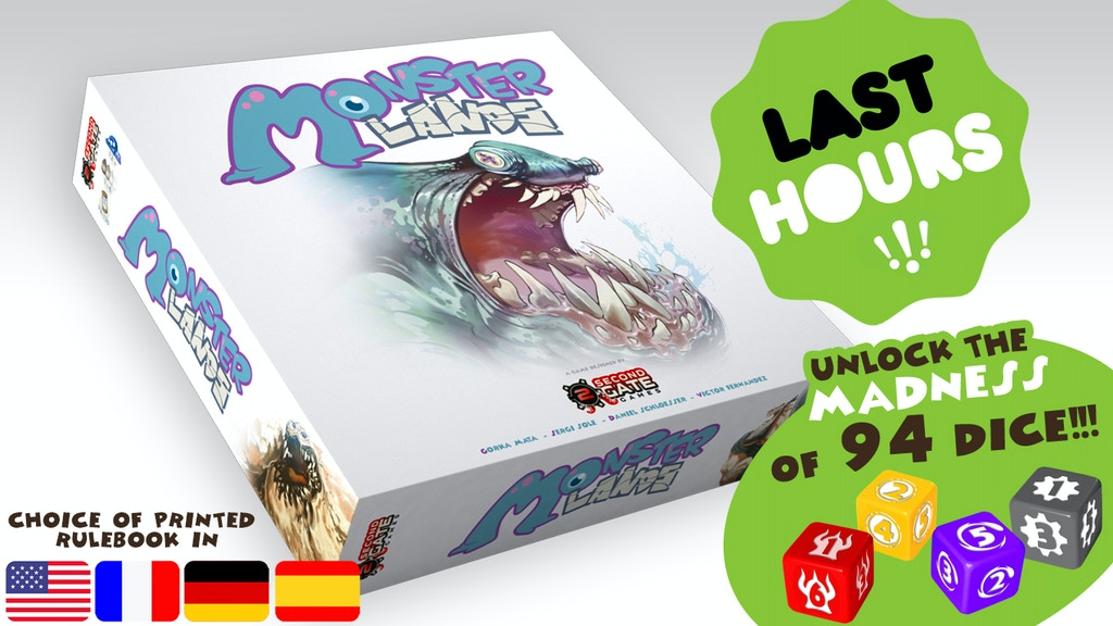 MONSTER LANDS – a strategic dice placement game project video thumbnail