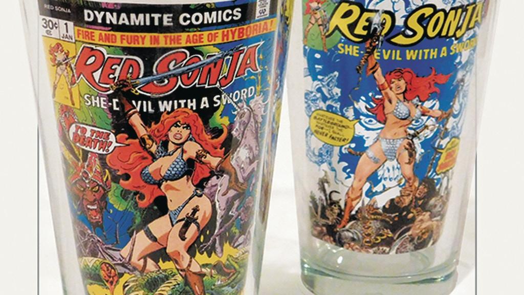 Red Sonja Vampirella & Chaos - Dynamite Glasses & Barware project video thumbnail