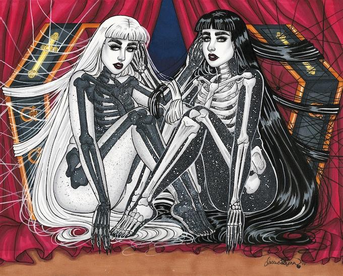 """Coffin Bones"" Original Art reward"