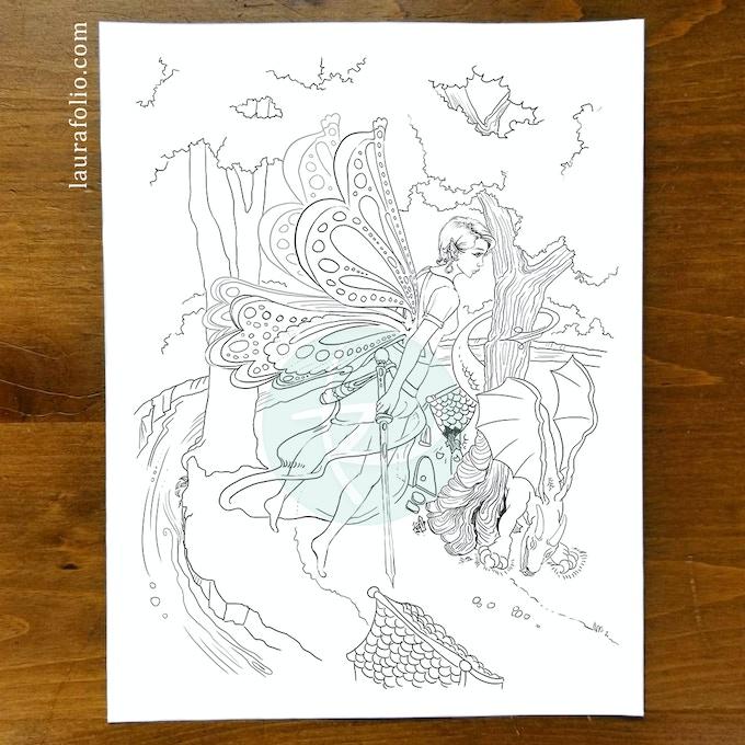 Cindy the Warrior Fairy