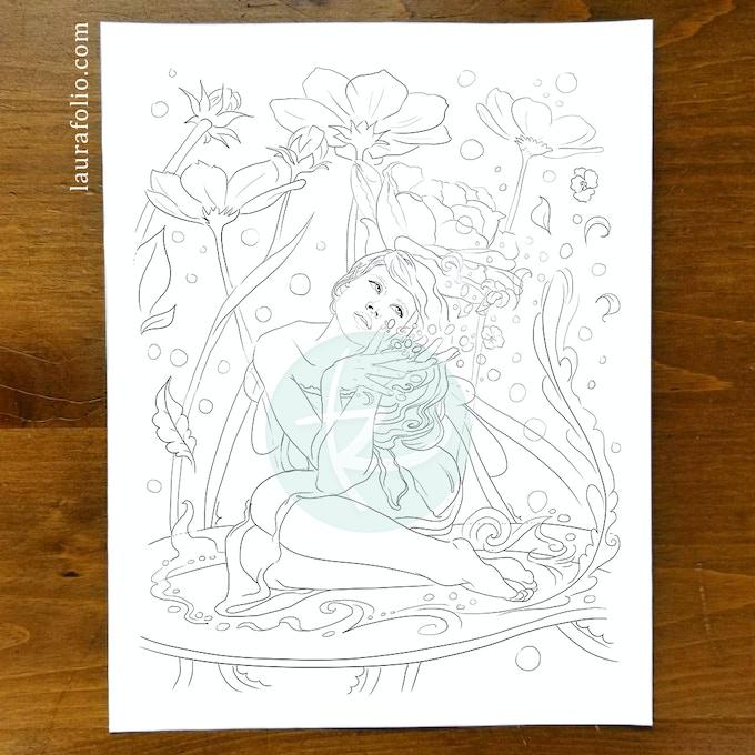 Verdita, the Spring Flower Fairy