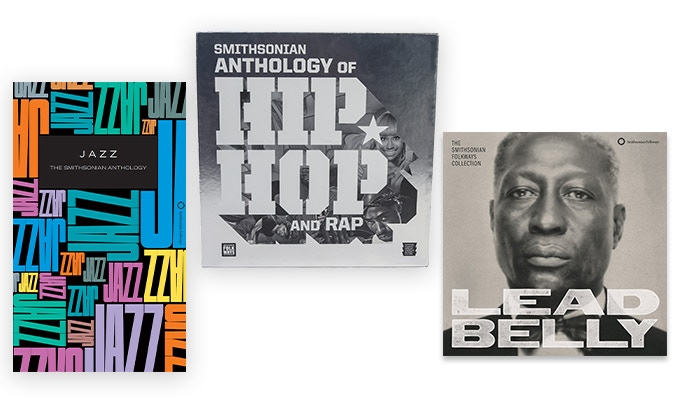 Get the Smithsonian Anthology of Hip-Hop and Rap along with two other iconic Smithsonian Folkways Recordings collections.