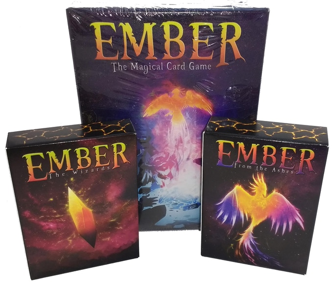 Ember: Core Game + From the Ashes and The Wizards (Basic Set)