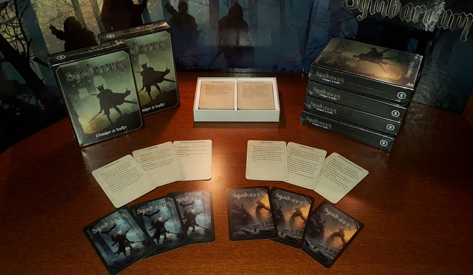 The Monster Deck will be manufactured by the same team who made the Abilities & Powers card box