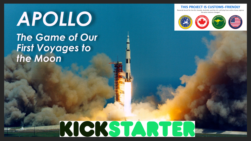 Apollo: The Game of Our First Voyages to the Moon project video thumbnail