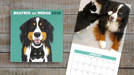 Beatrix & Midge 2018 Calendar