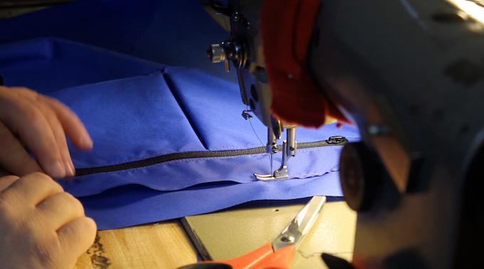 Protoyping the Honey Badger's laptop sleeve