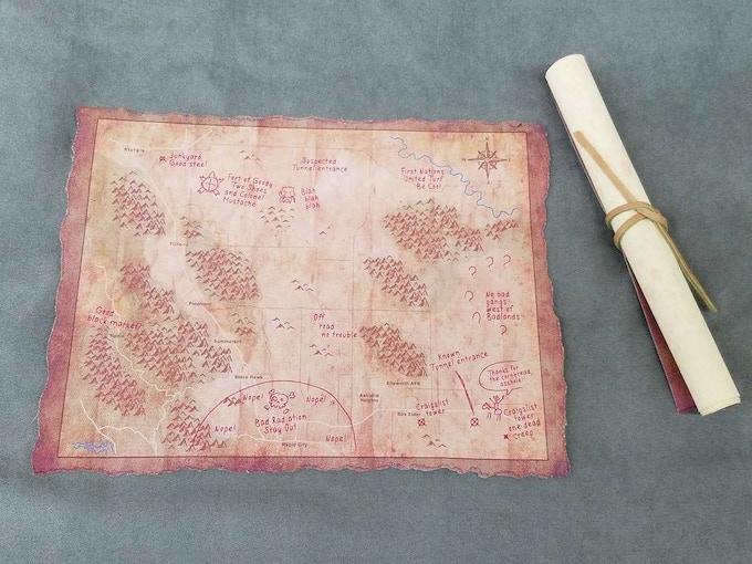 Hanover's Map!