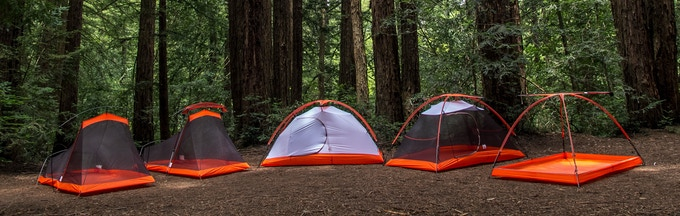 Our 3-season backpacking tents
