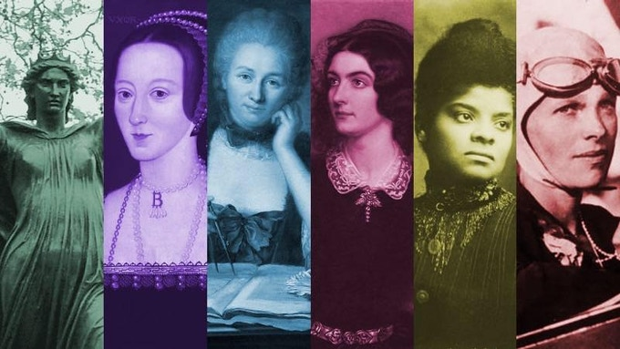 The historical ladies of GDN's executive council