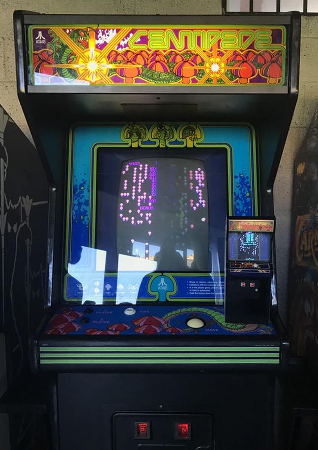 """RepliCade: Mini Centipede Arcade Machine Replica 12"""" Tall by New"""