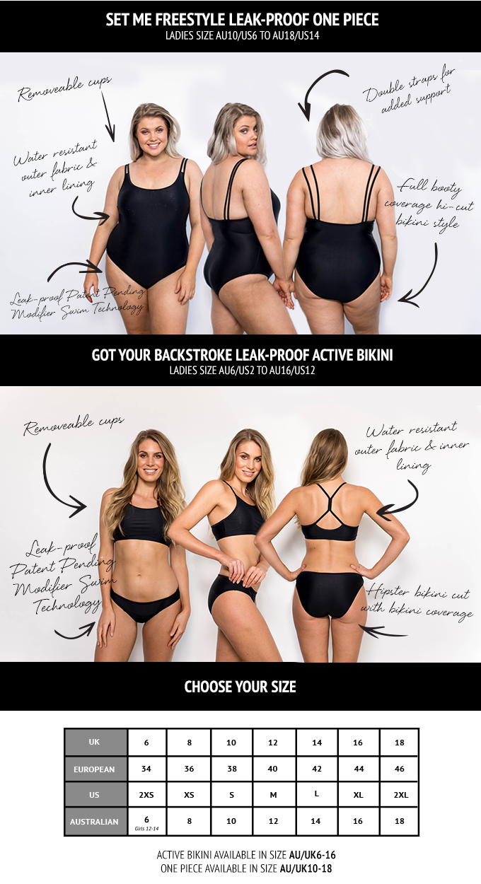 892e9bfb82 Both swimsuit styles are ideal for a cup size up to DD and feature  removable cups.