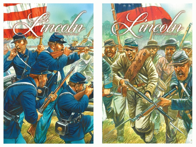 Lincoln features some superb Peter Dennis artwork - these are production samples of the card backs.