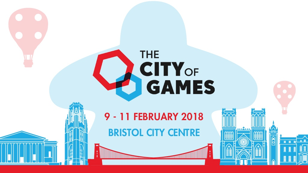 The City of Games 2018: A Board Game Convention in Bristol project video thumbnail