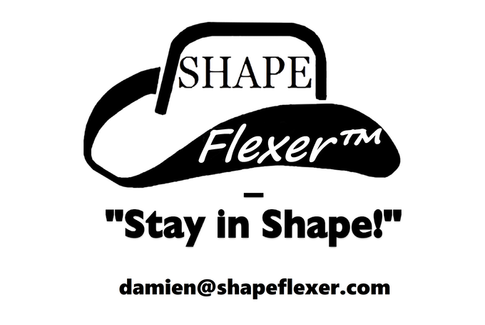 Shape Flexer: The world's first shape-able stiff brim sunhat
