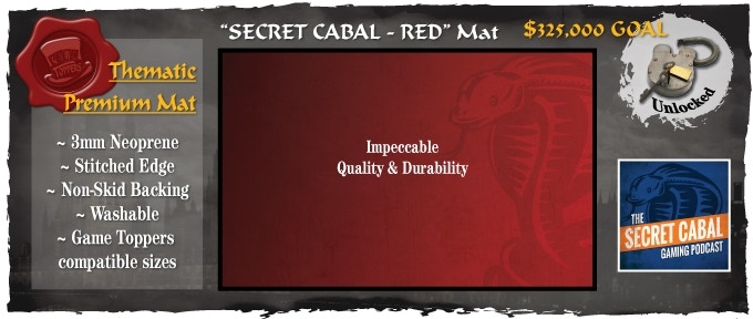 Secret Cabal Red unlocked! Click Image for high res