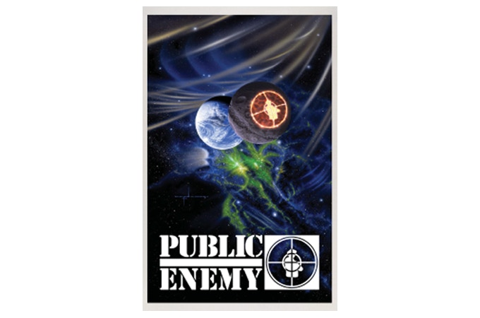 "33"" x 55"" full color print of Public Enemy album artwork by B.E. Johnson"