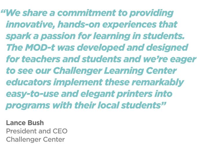 Challenger Center, a New Matter partner