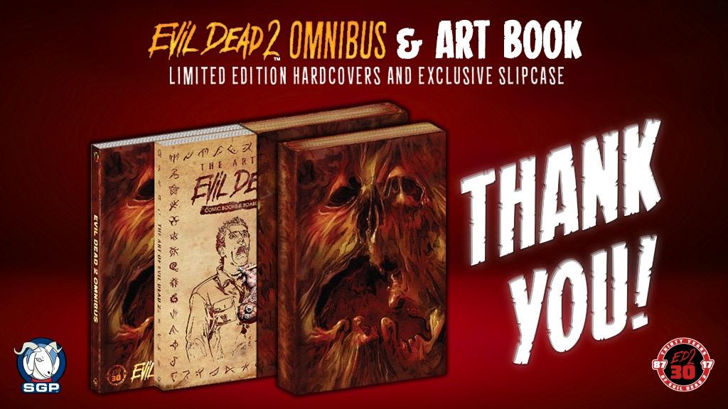 30th Anniversary Evil Dead 2 Comic Book Omnibus And Art Book By