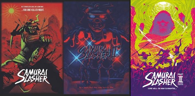 Michael Lee-Graham's mini-posters.