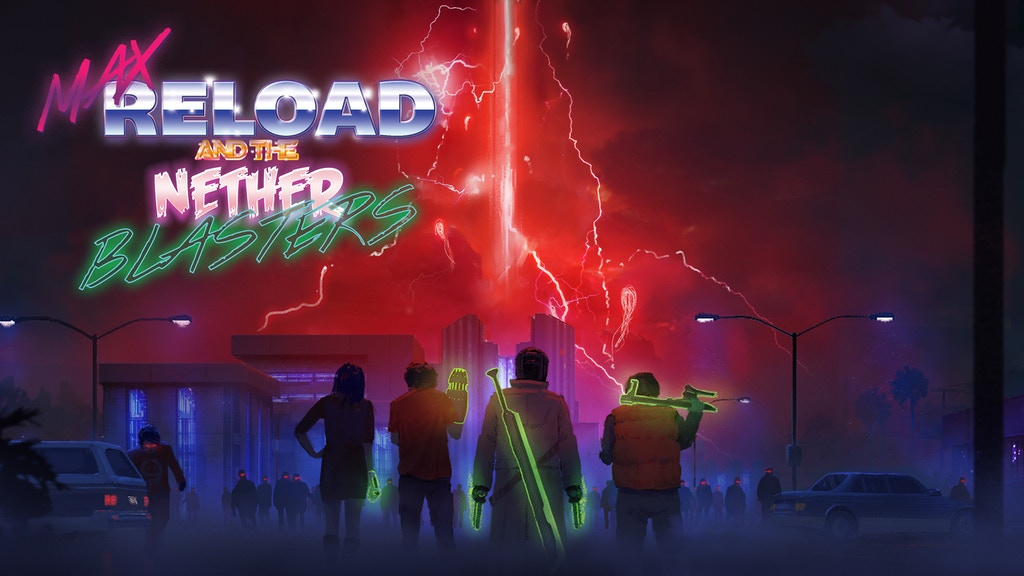 MAX RELOAD and The Nether Blasters project video thumbnail