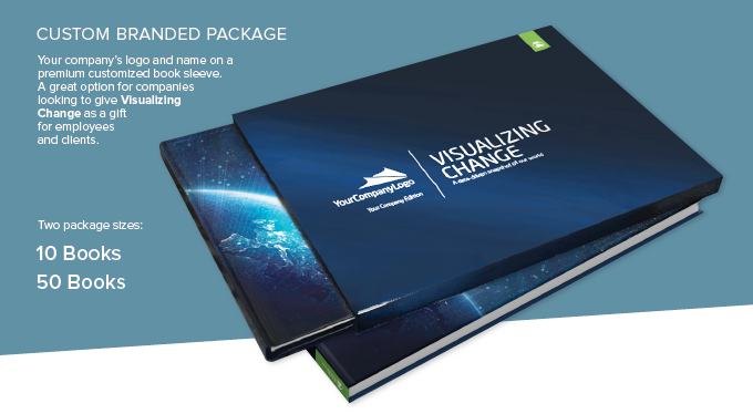 Custom sleeve design with your logo = perfect for corporate gifts