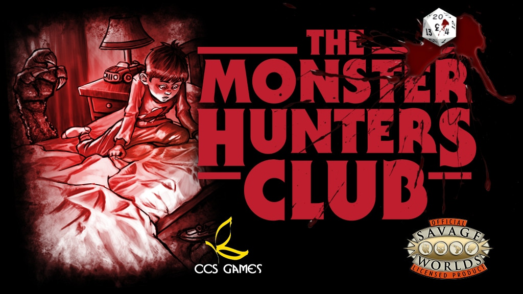 The Monster Hunters' Club RPG for Savage Worlds project video thumbnail