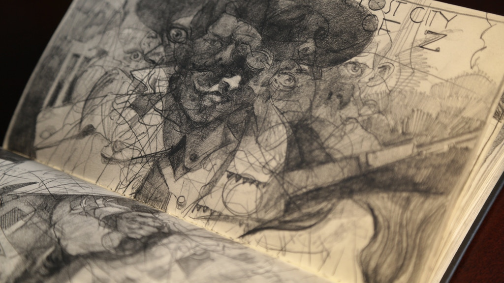 Curating Chaos: The personal sketchbooks of Sterling Hundley project video thumbnail
