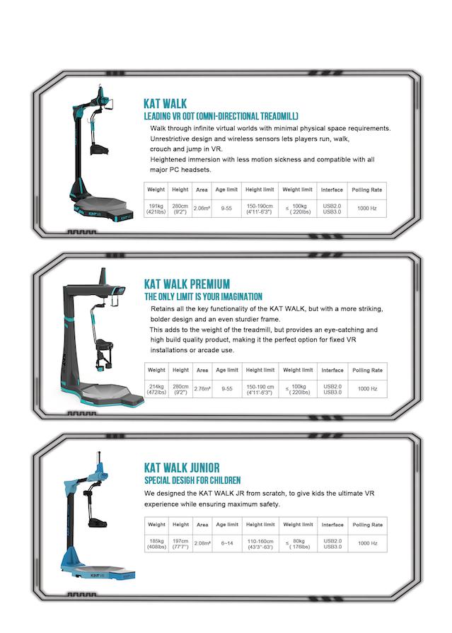 6431fd5bfd52 KAT WALK – A NEW VR OMNI-DIRECTIONAL TREADMILL. by KATVR — Kickstarter