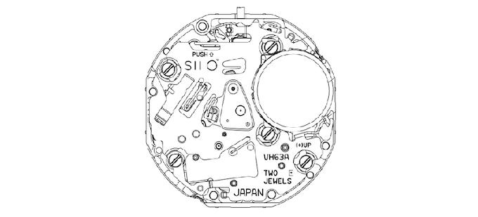 Japan made VH movement