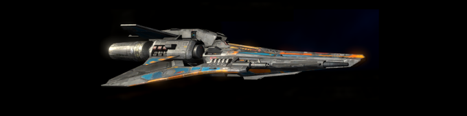 Light Fighter - Small and nimble, but lacking the shield and firepower of the larger space fighters