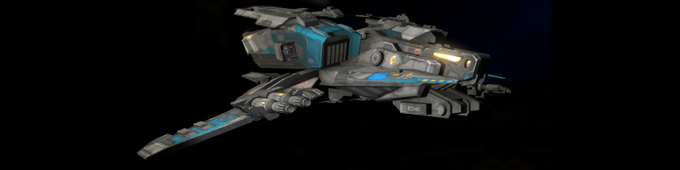 Bomber - Big, slow and heavy. Hopeless in a dogfight, but perfect to destroy a command ship