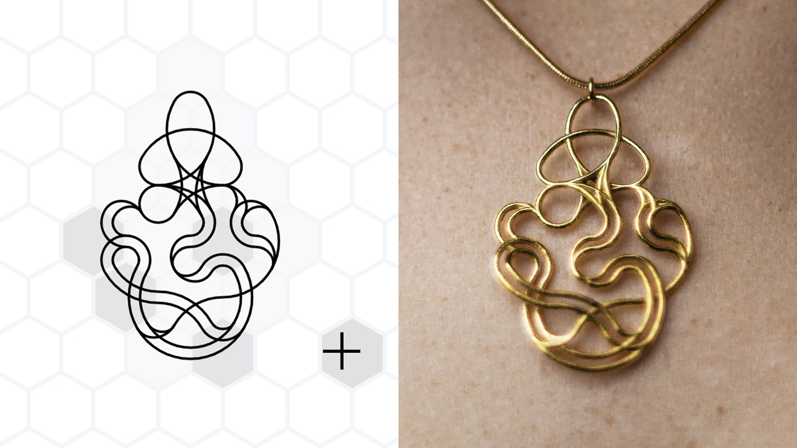 Design your own Sterling Silver or 18ct Gold pendants using this intuitive web app