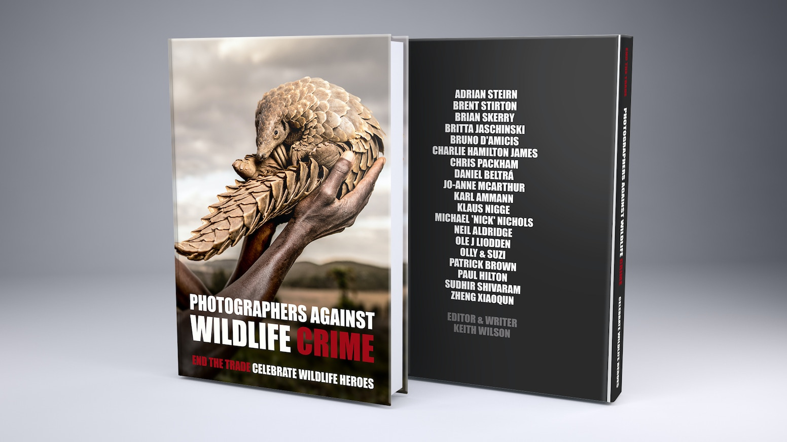 We will launch this book in May 2018 followed by a Mandarin edition for sale in China.THANK YOU for supporting us. You did it! Please take a look at our website. photographersagainstwildlifecrime.com