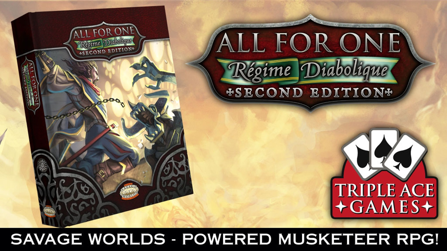 All for one regime diabolique 2nd edition savage worlds for Bureau 13 savage worlds