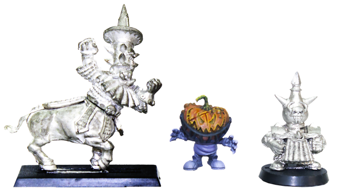 Dwarf models are GW. They are here only for the size comparison. Dwarf models are not included in any pledge.