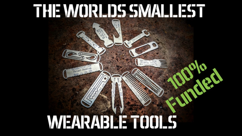 Grim Everyday Carry (EDC) Zipper Micro Tool System project video thumbnail