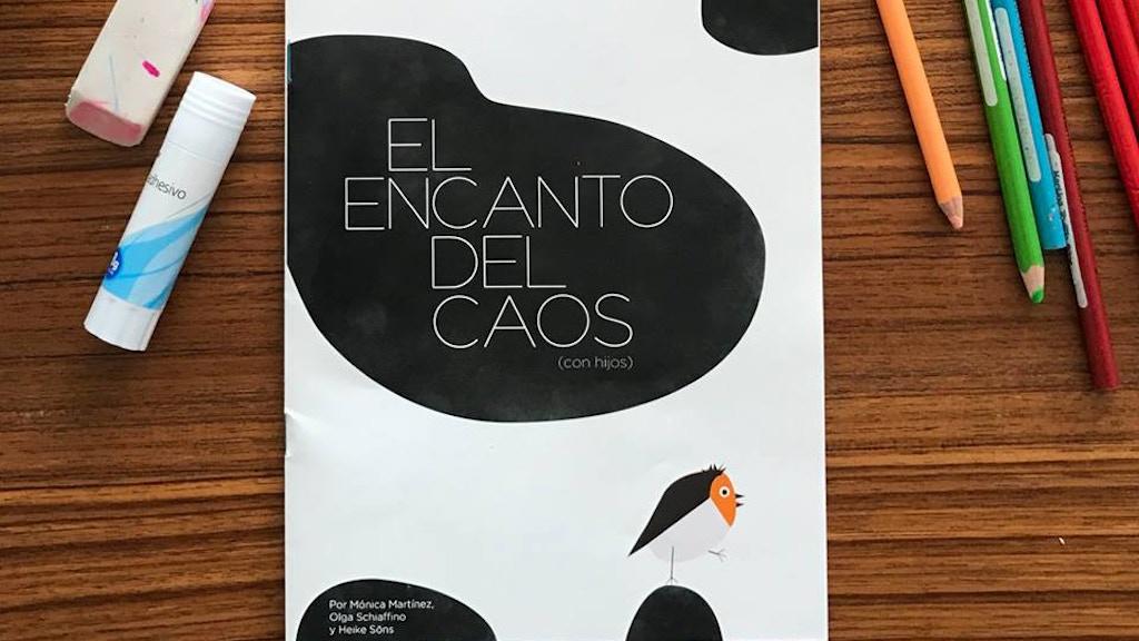 El encanto del caos: el libro-cuaderno de la maternidad project video thumbnail