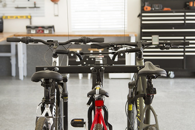 The Multi Bike Holder Is Designed To Lift Up To Three Bikes.