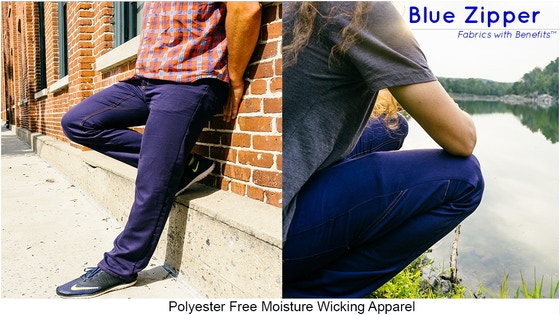 Polyester Free Pants - Addressing Microfiber Water Pollution