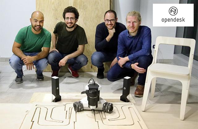 Goliath CNC - An Autonomous Robotic Machine Tool for Makers