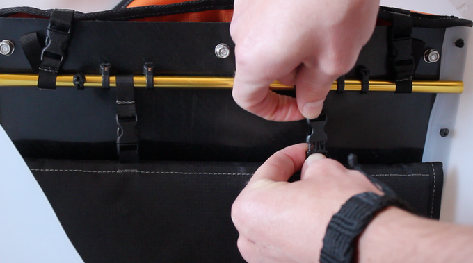 Suspended sleeve design protects your laptop from drops.